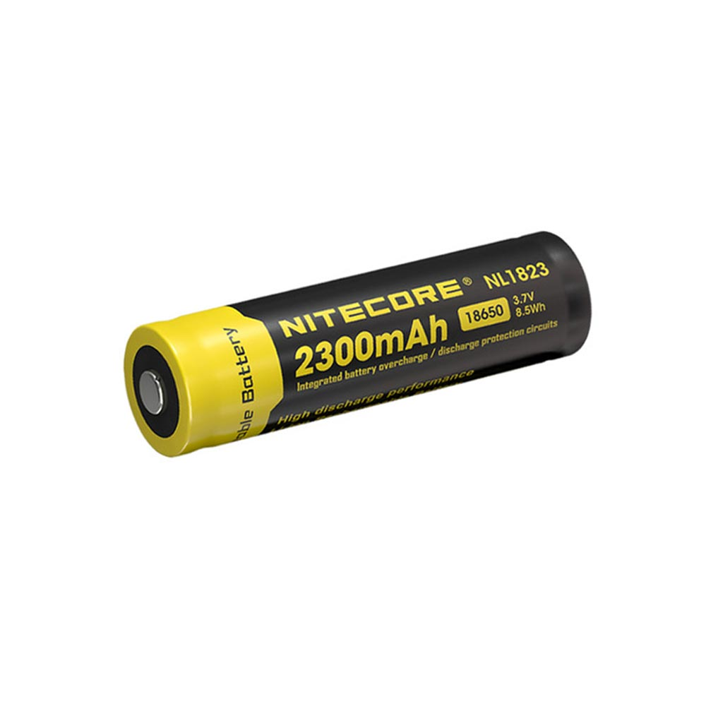 Nitecore 2300mah Nl1823 18650 Battery Apex Protection Circuit Images