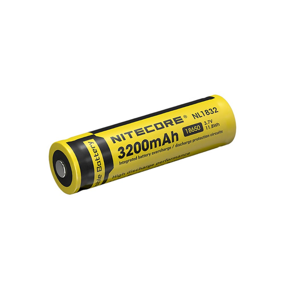 Nitecore 3200mah Nl1832 18650 Battery Apex Protection Circuit Images